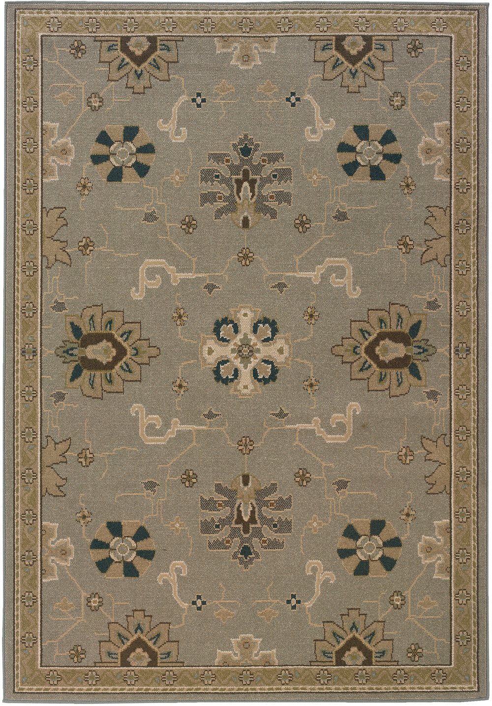 Oriental Weavers Chloe 3965a Grey Therugcorner Com