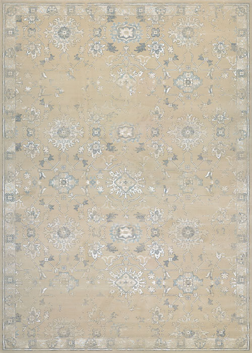 Couristan Provincia Leilani Grey Cream Therugcorner Com