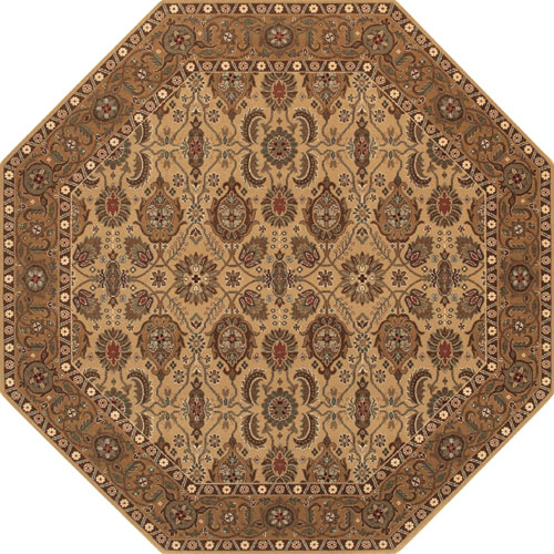 Shop Gold Octagon Rugs At The Rug Corner