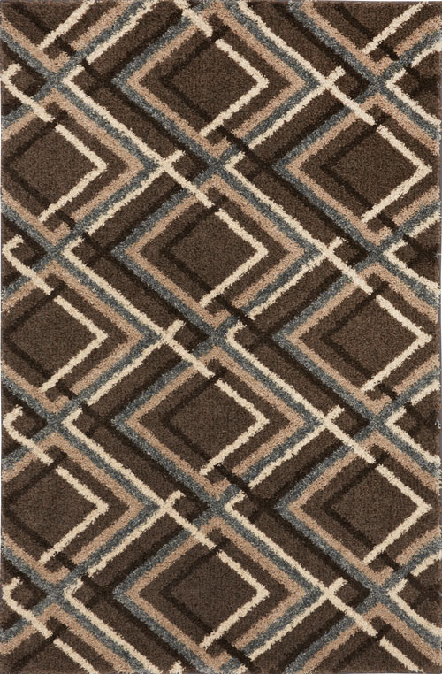 American Rug Craftsman Augusta Browning Avenue Grey Black Taupe