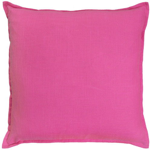 rizzy pillows polyester filled pillow t05734 hot pink pillow