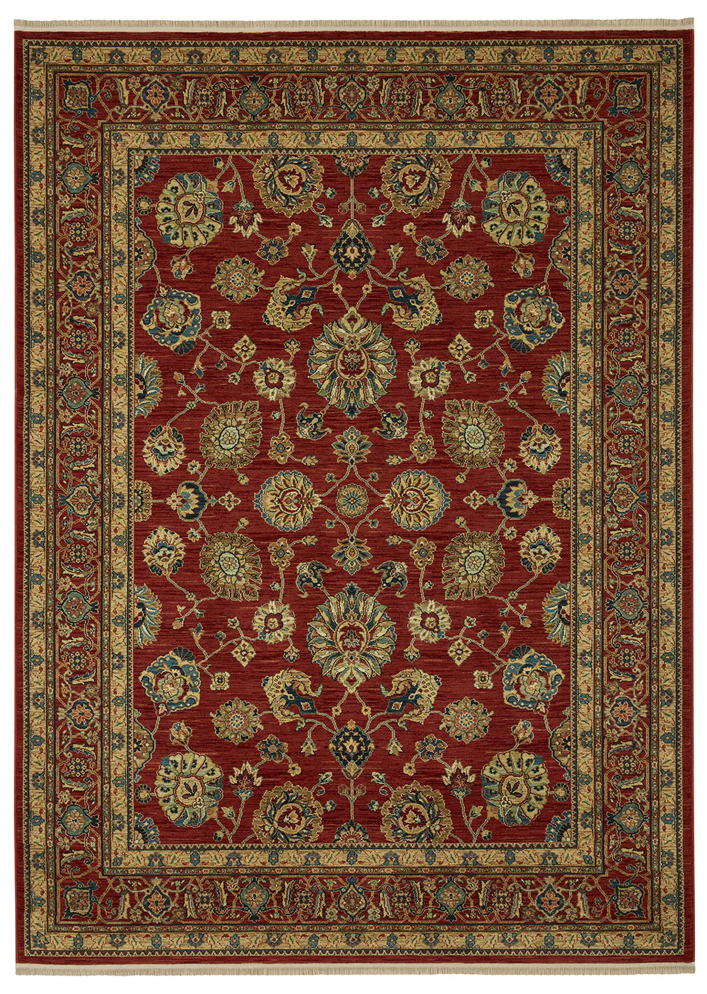 Karastan Sovereign Sultana Red Multi Rug