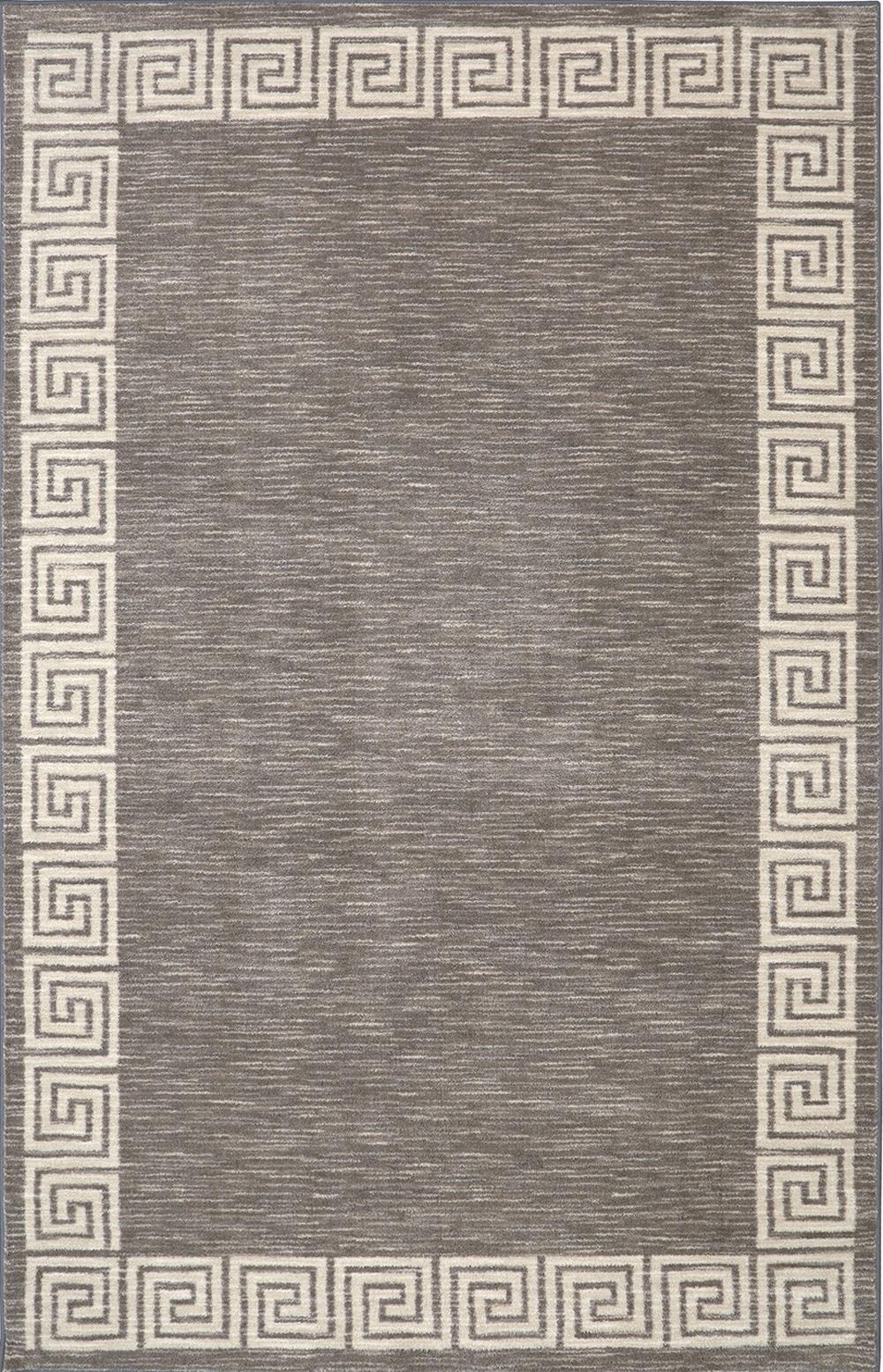 Karastan Aurora Oceanus Gray Gray Rug