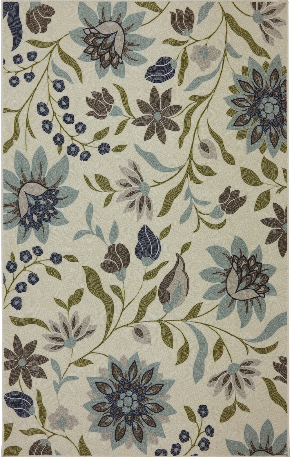 Karastan Woodbridge Clarita Blue Multi Rug