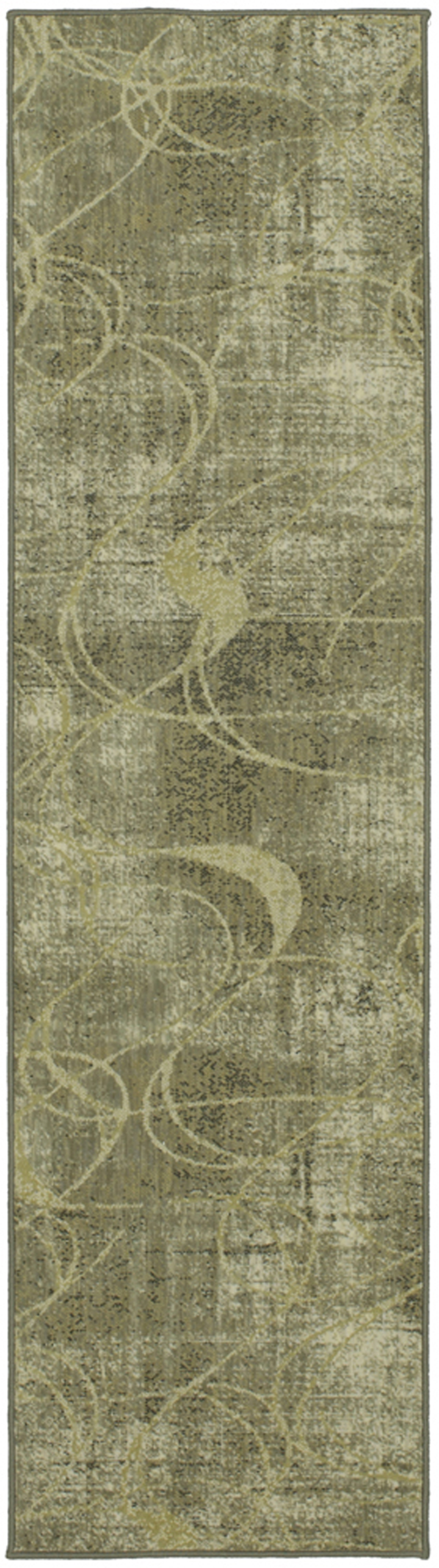 Karastan Titanium Xenia by Virginia Langley Gray Rug