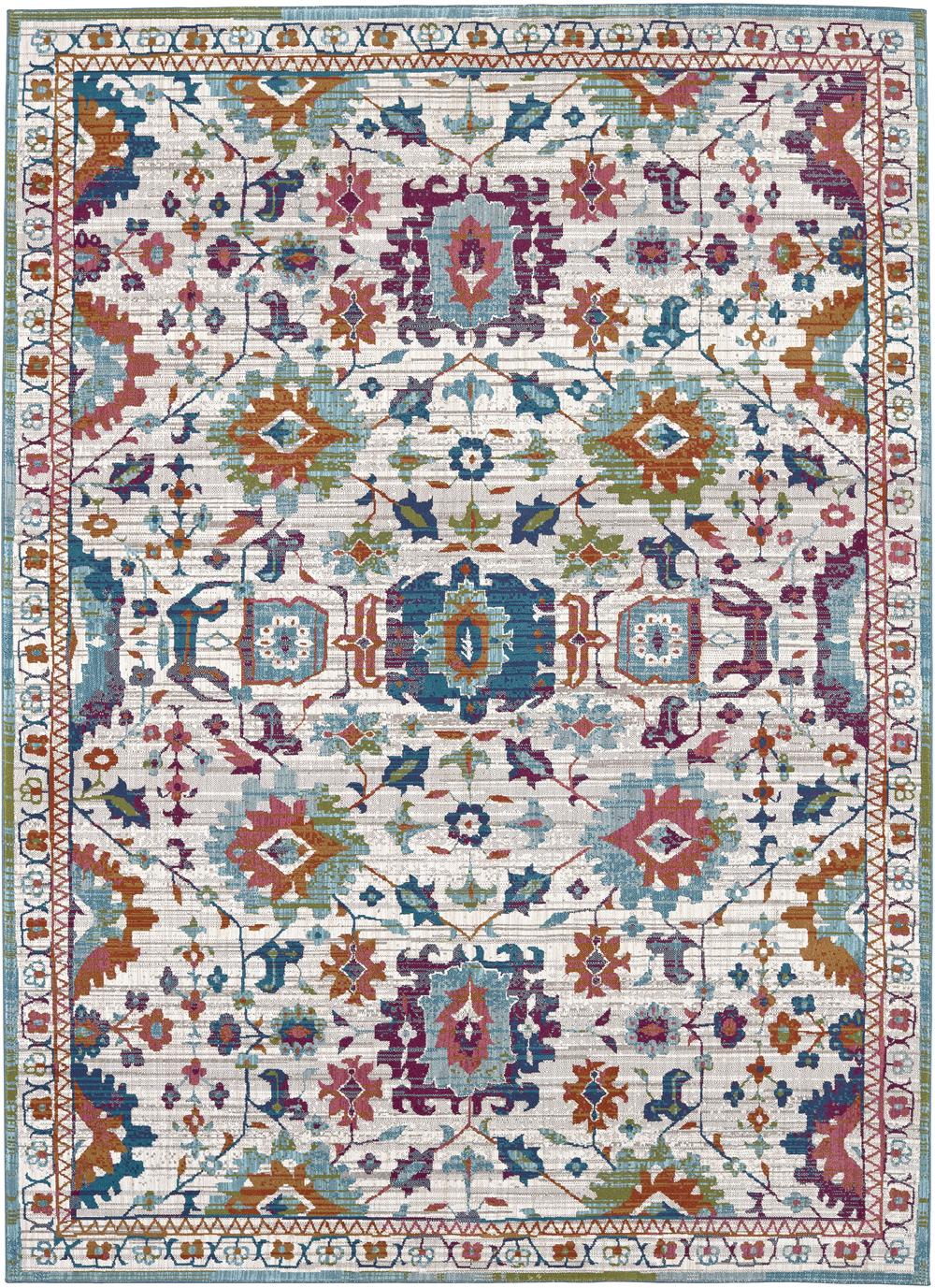 Karastan Meraki 39500 Sublime Multi Rug