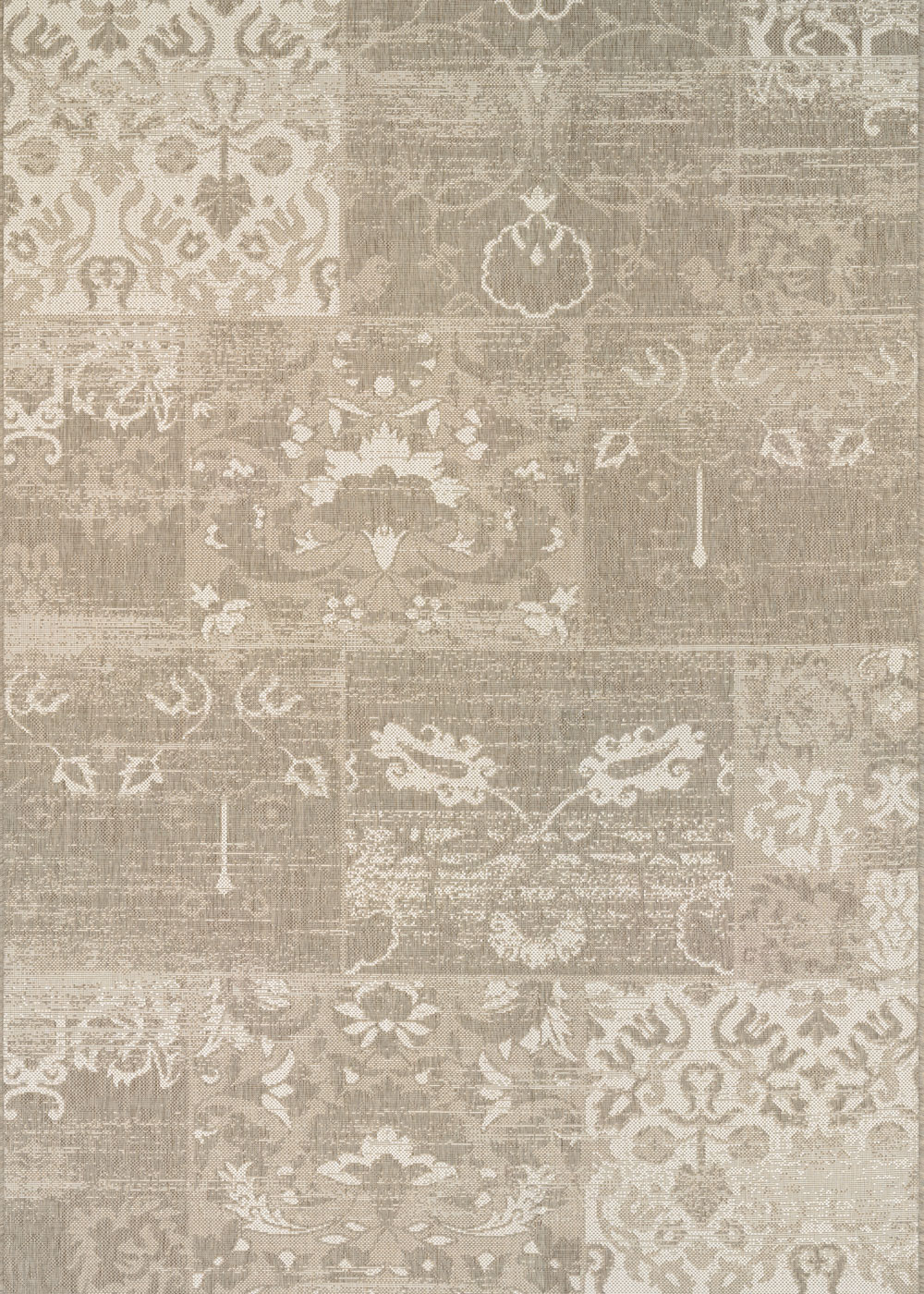 couristan AFUERA COUNTRY COTTAGE BEIGE/IVORY Rug