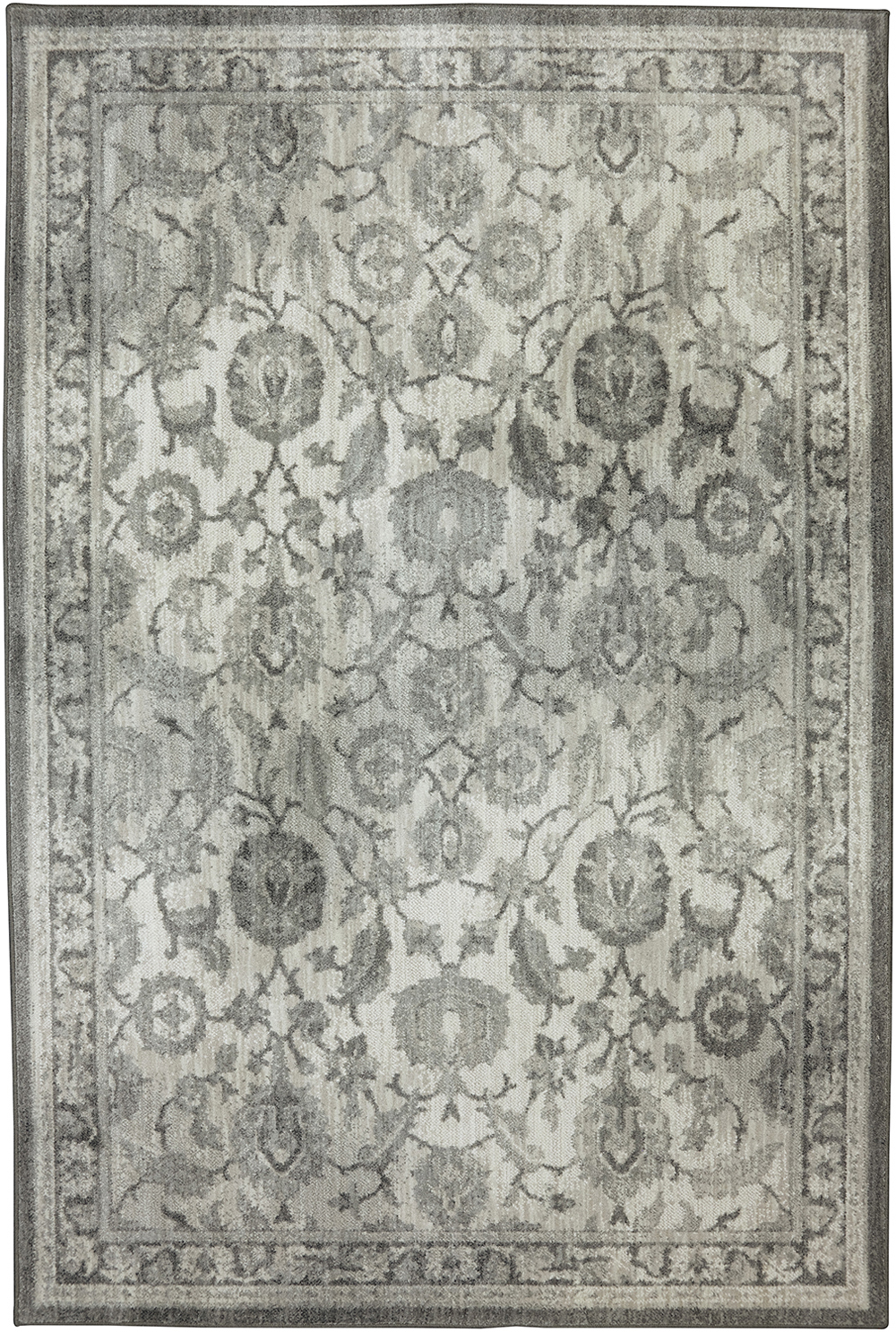 Karastan Euphoria New Ross Ash Grey Cream Rug