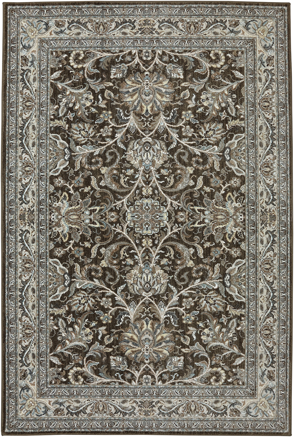 Karastan Euphoria Newbridge Brown Brown Rug