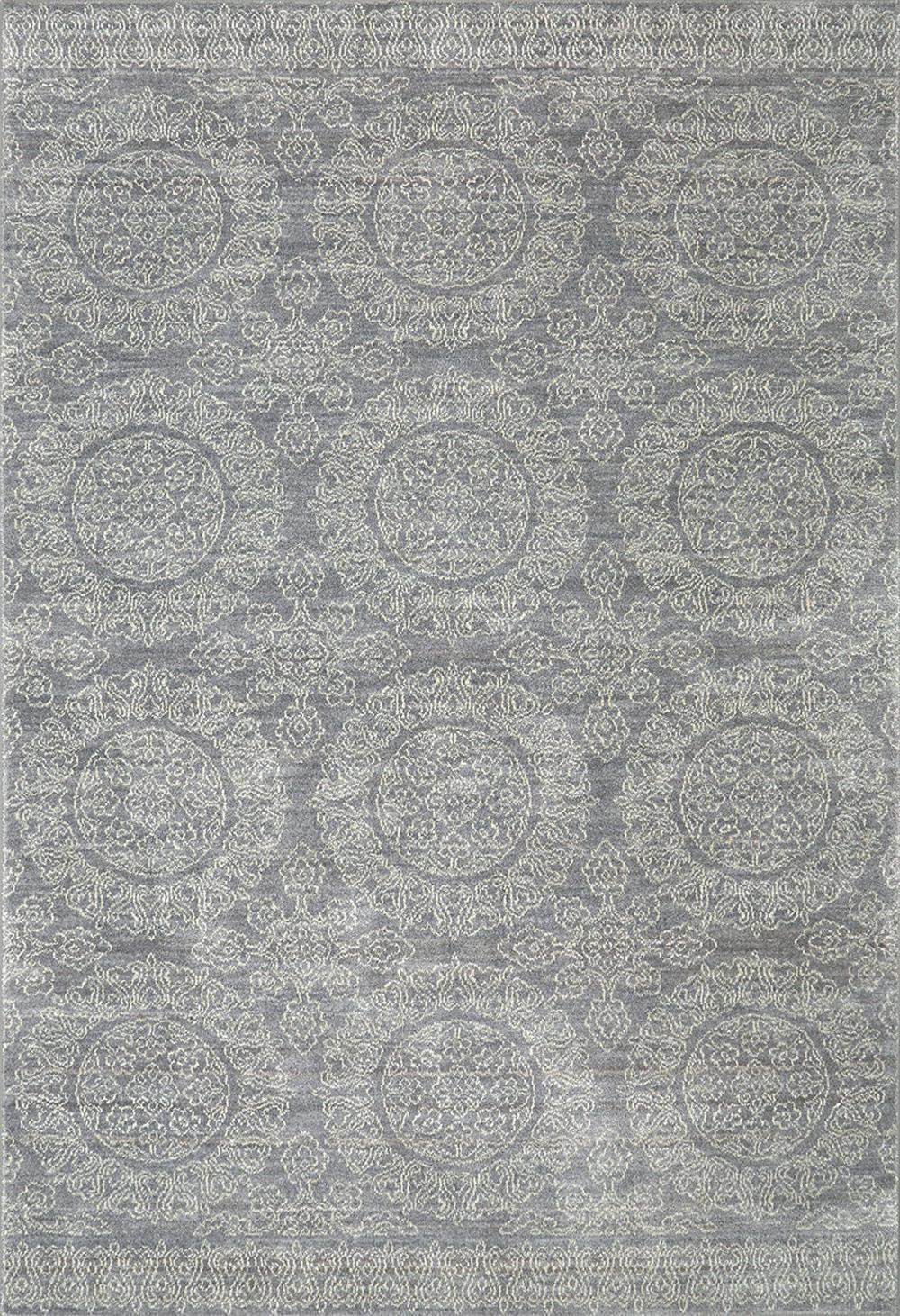 Karastan Pacifica Leawood Grey Grey Rug