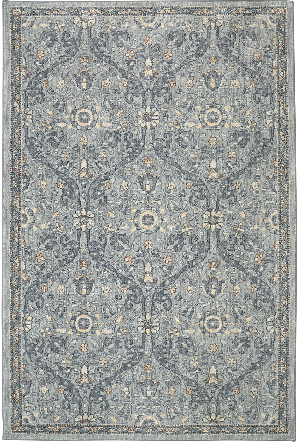 Karastan Euphoria Galway Willow Grey Willow Grey Rug