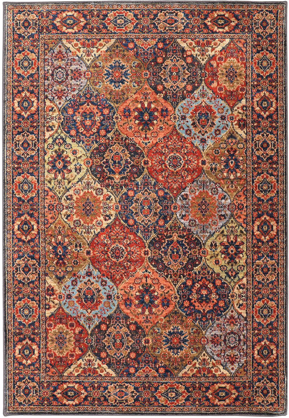 Karastan Spice Market Levant Multi Multi Rug