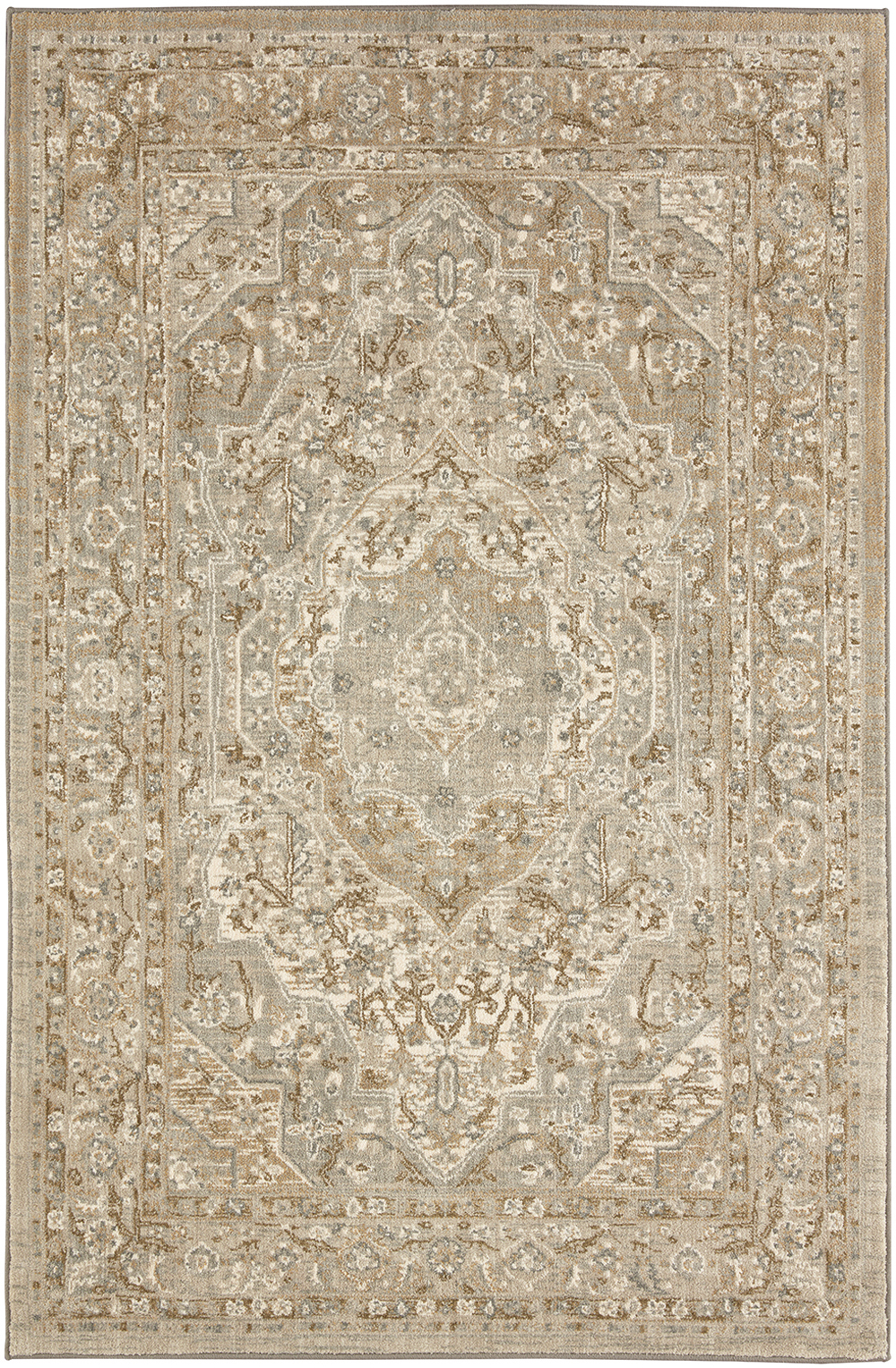 Karastan Touchstone Nore Willow Grey Bone White Rug