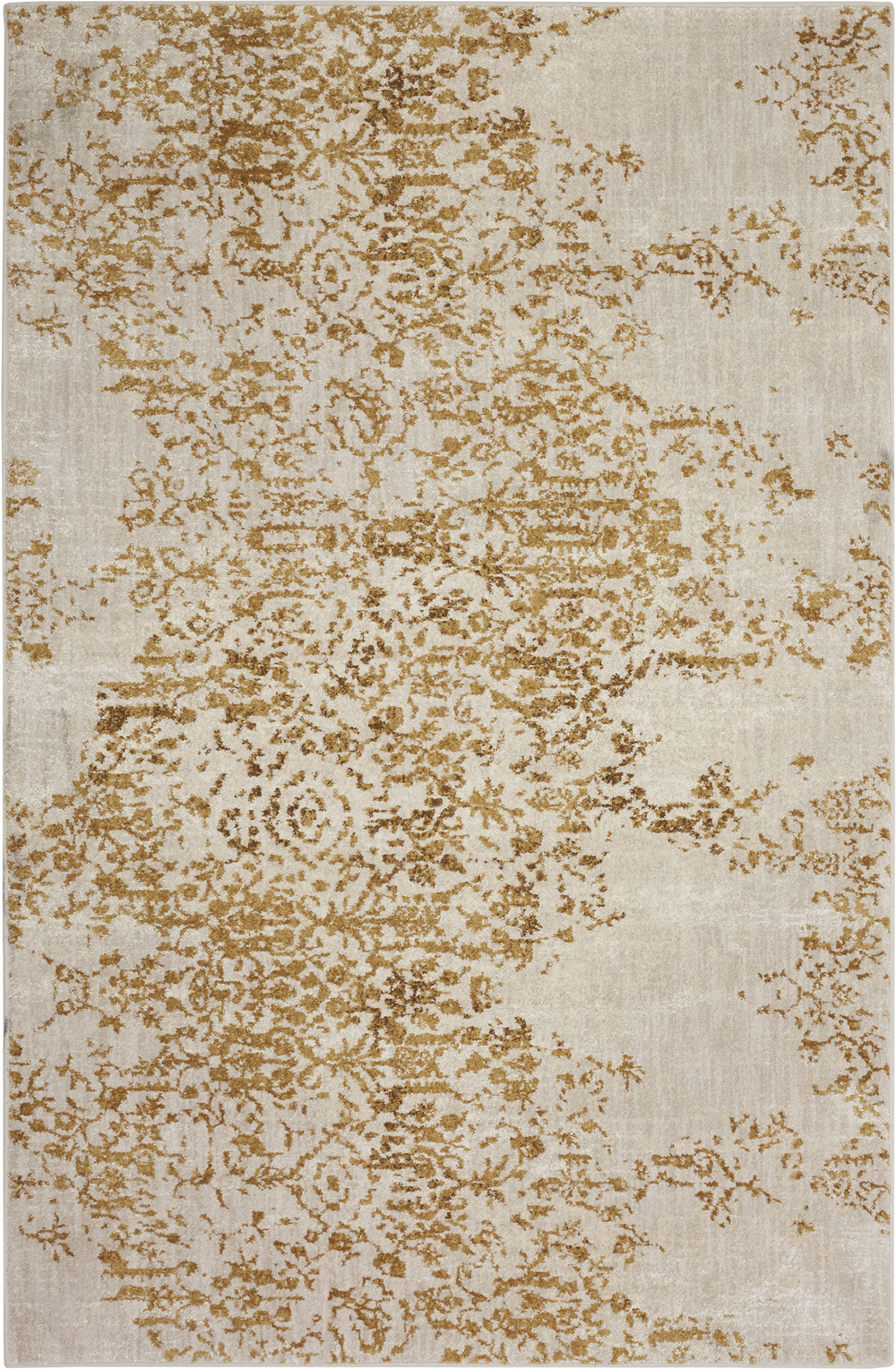 Karastan Cosmopolitan 90953 Nirvana Brushed Gold by Virginia Langley Rug