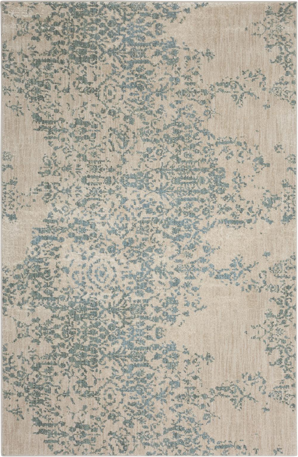 Karastan Cosmopolitan 90953 Nirvana Jade by Virginia Langley Rug