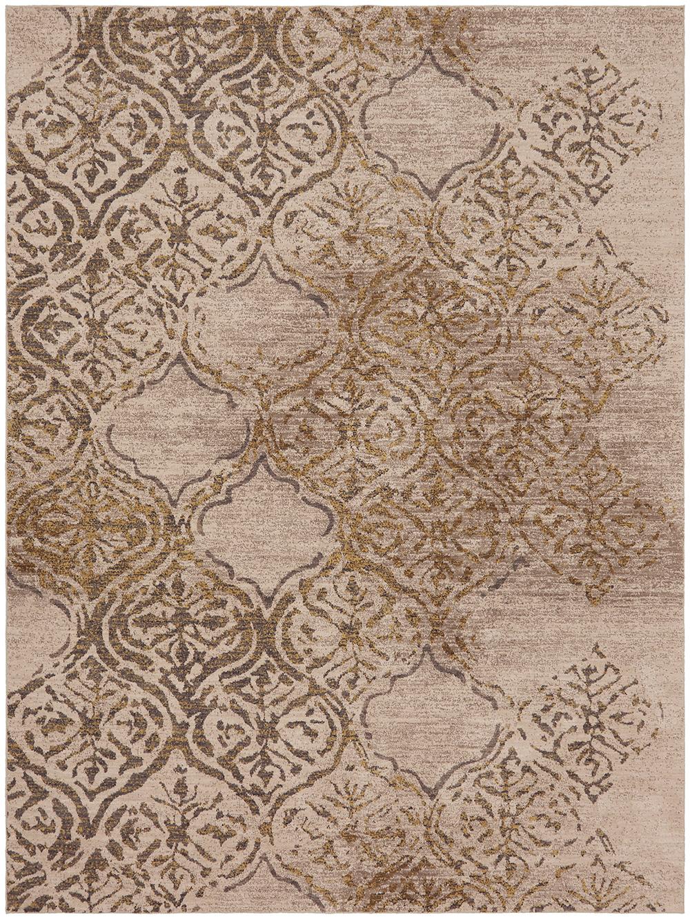 Karastan Cosmopolitan Zendaya Desert by Virginia Langley Antique White Rug