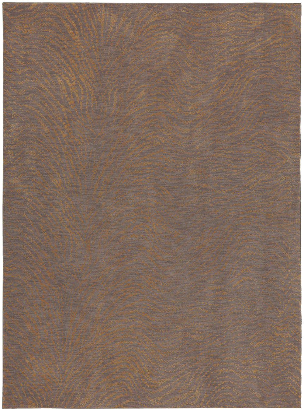 Karastan Enigma Spectral Brushed Gold Smokey Gray Rug