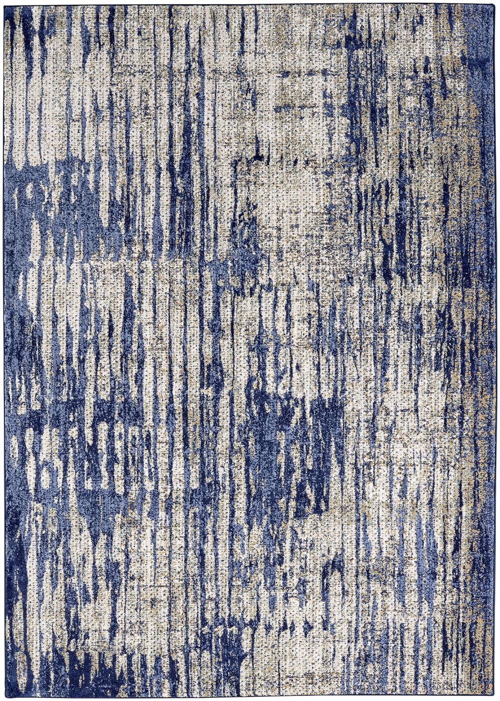 Karastan Cosmopolitan Mineral Bleu Indigo by Patina Vie Periwinkle Rug