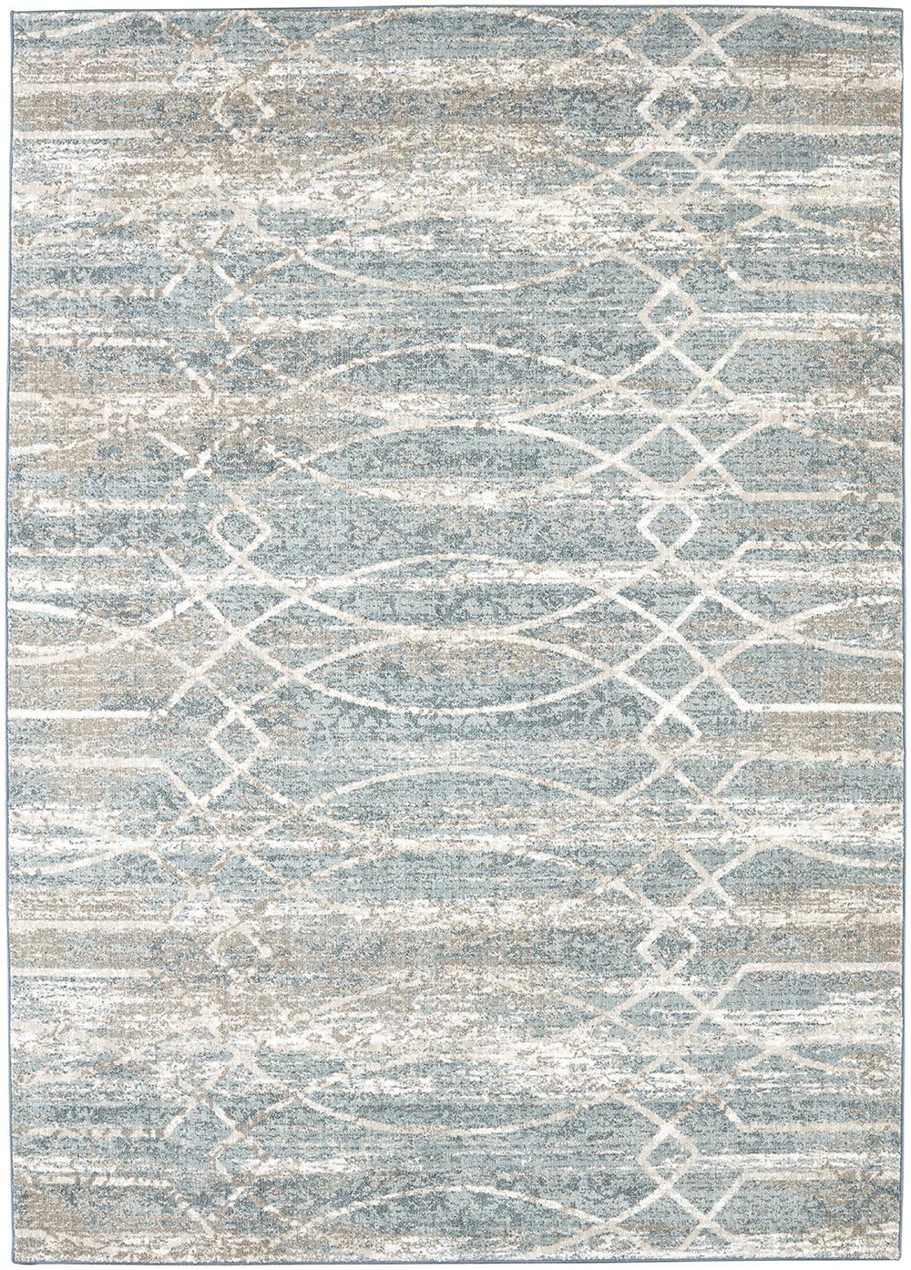 Karastan Touchstone Debonair Jadeite by Virginia Langley Bone White Rug