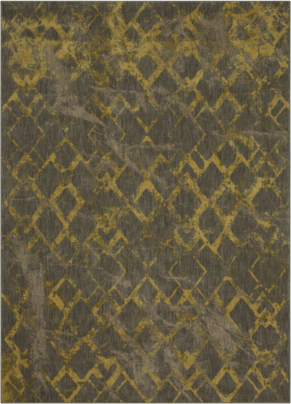 Karastan Cosmopolitan 91642 Quartz Brushed Gold by Patina Vie Rug