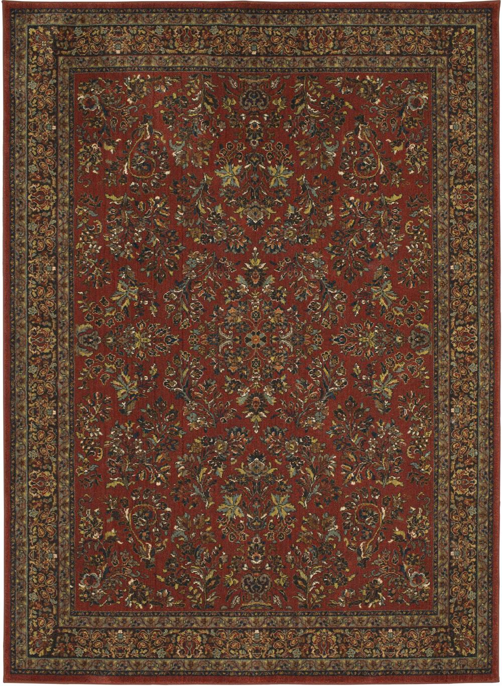 Karastan Spice Market 91648 Berdan Garnet Rug