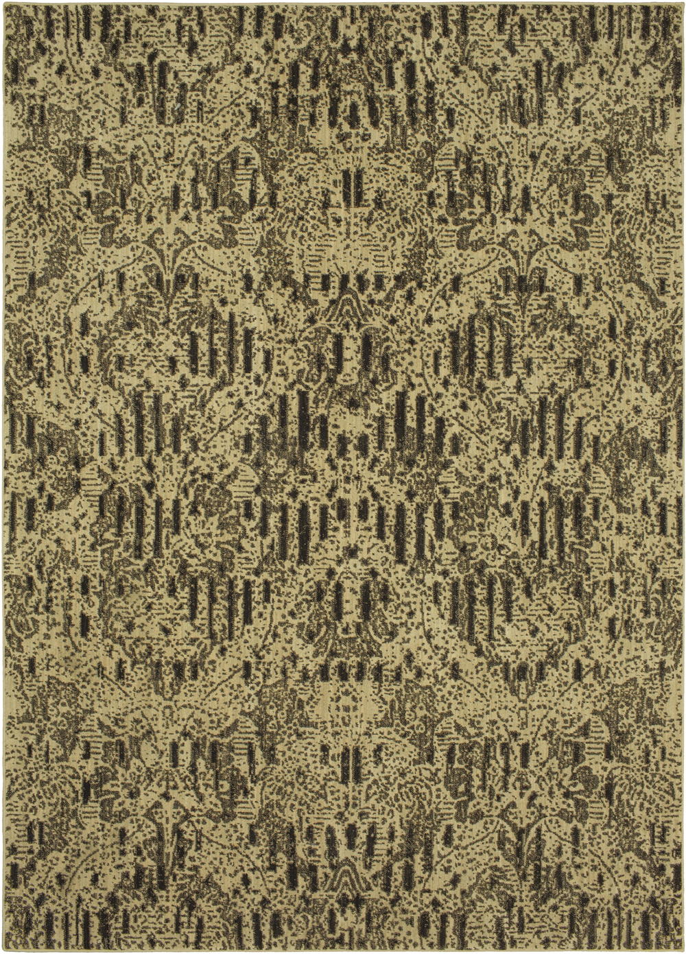 Karastan Spice Market 91662 Angelique Charcoal by Patina Vie Rug