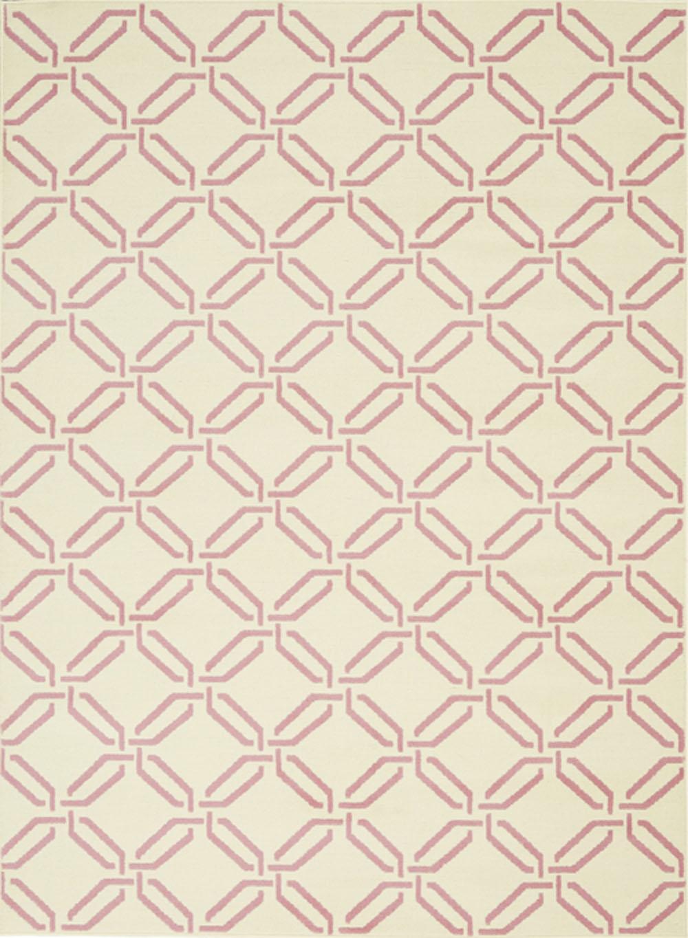 Nourison Jubilant JUB17 Ivory/Pink Rug