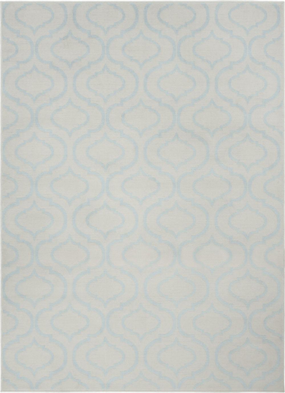 Nourison Jubilant JUB19 Ivory/Blue Rug