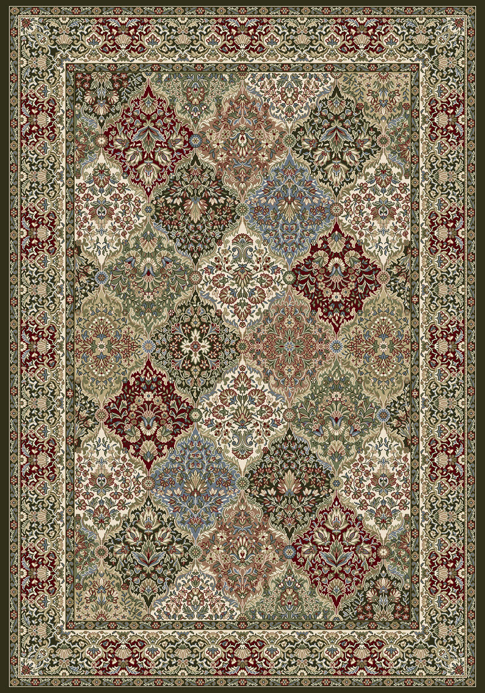 Dynamic ANCIENT GARDEN 57008 MULTI Rug