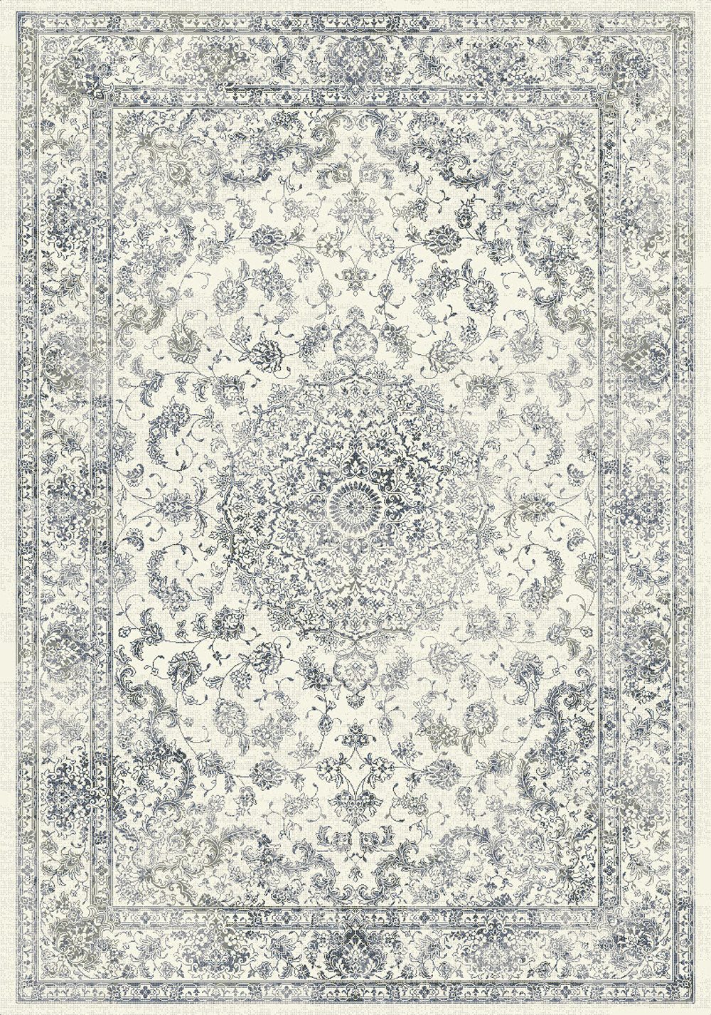 Dynamic ANCIENT GARDEN 57109 CREAM Rug