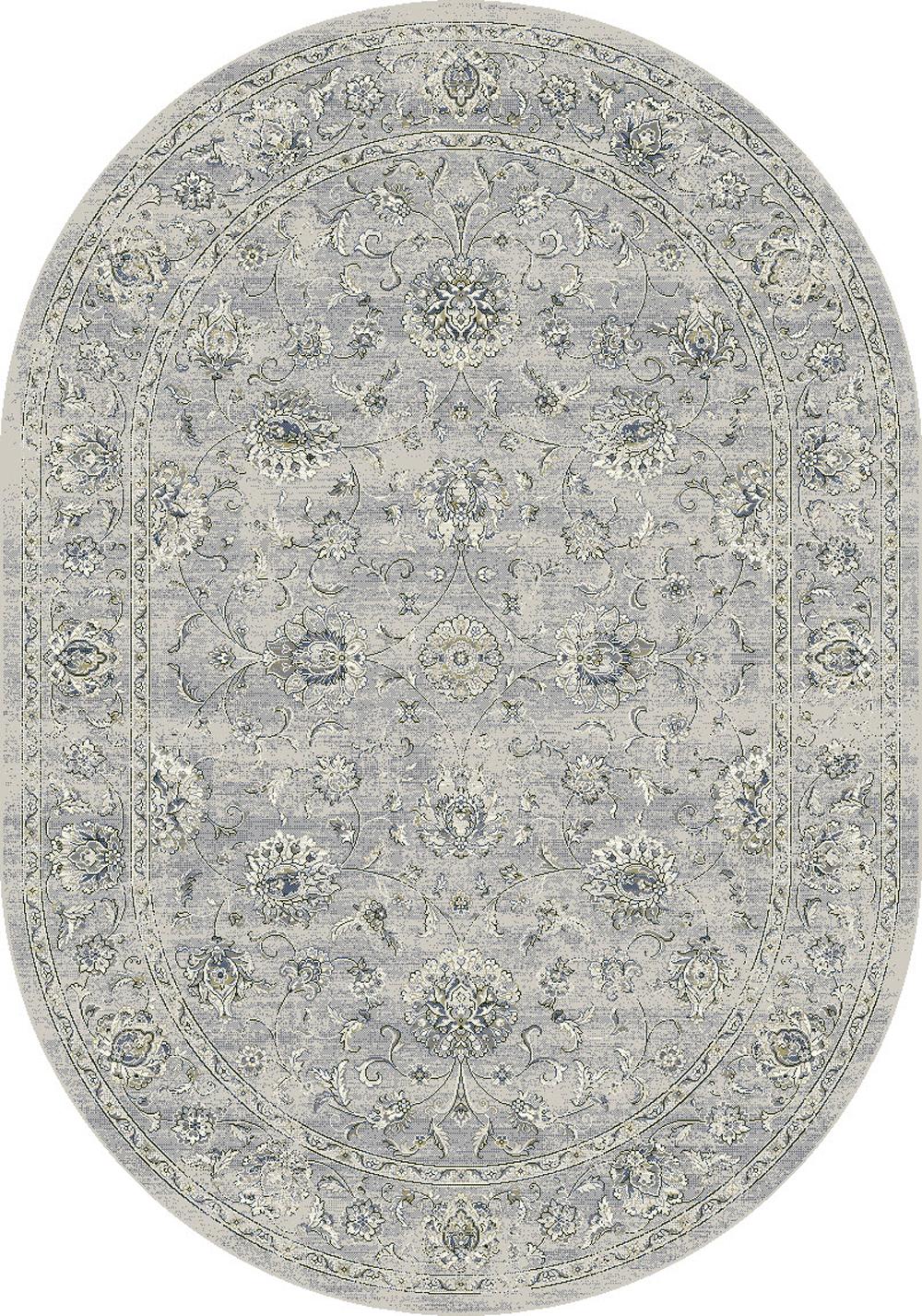 Dynamic ANCIENT GARDEN 57126 SILVER/GREY Rug