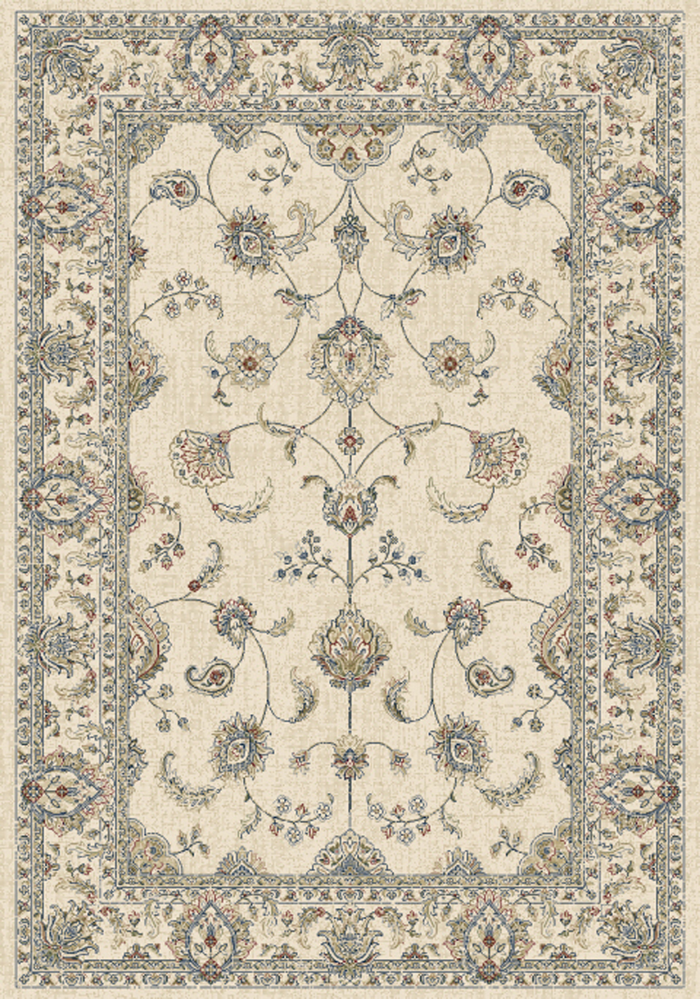 Dynamic ANCIENT GARDEN 57159 IVORY Rug