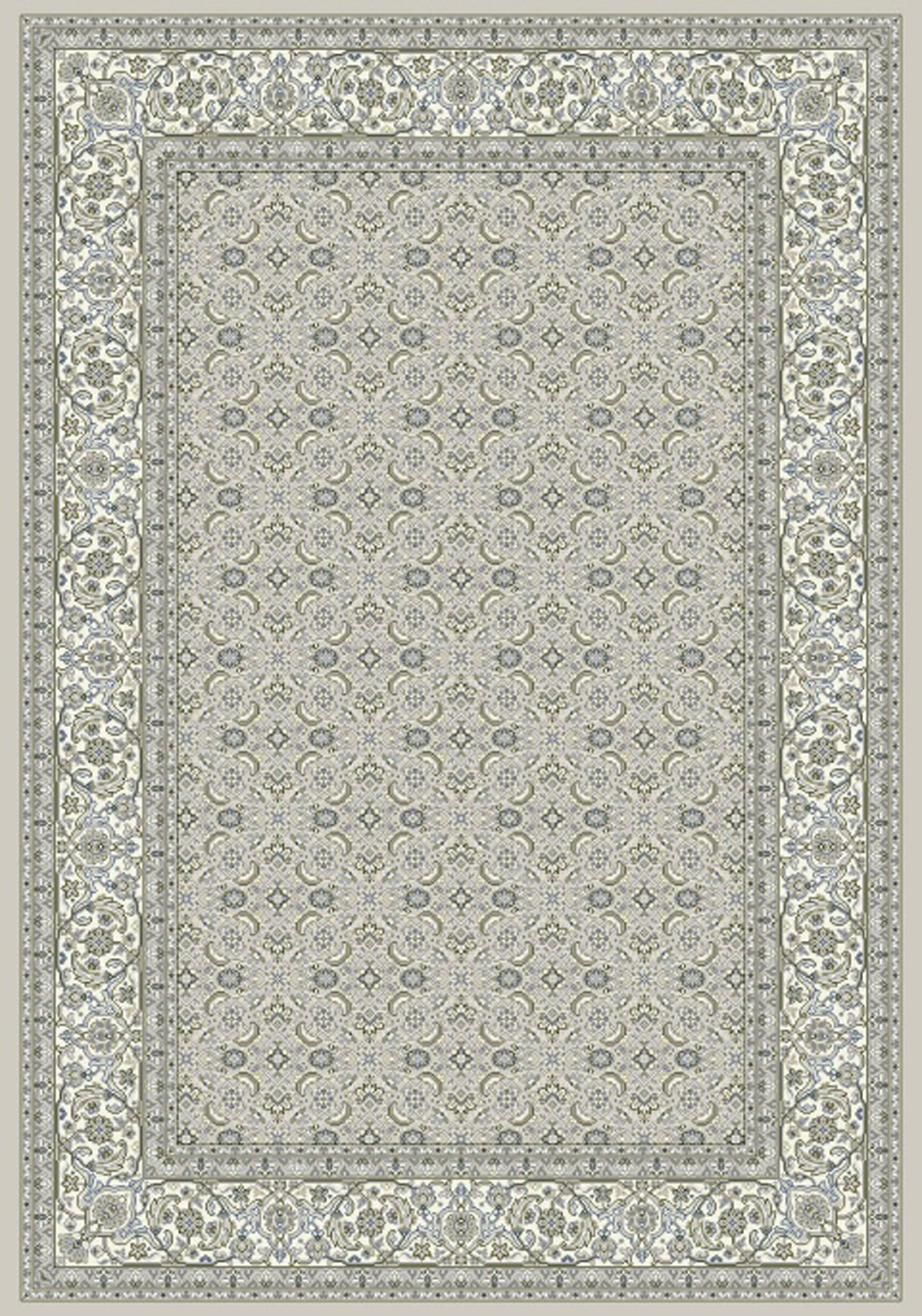 Dynamic ANCIENT GARDEN 57011 SOFT GREY/CREAM Rug