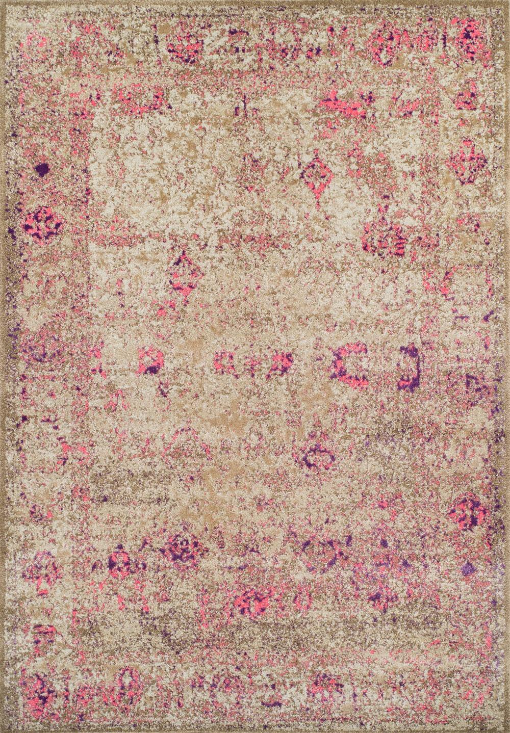 Dalyn Antiquity AQ1 Pink Rug