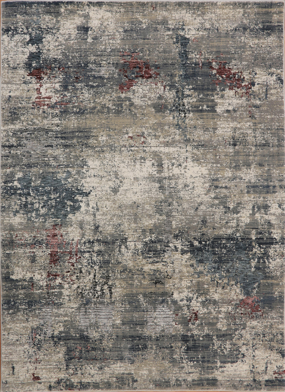 Dynamic ASTORIA 3370 GREY/BURGUNDY Rug