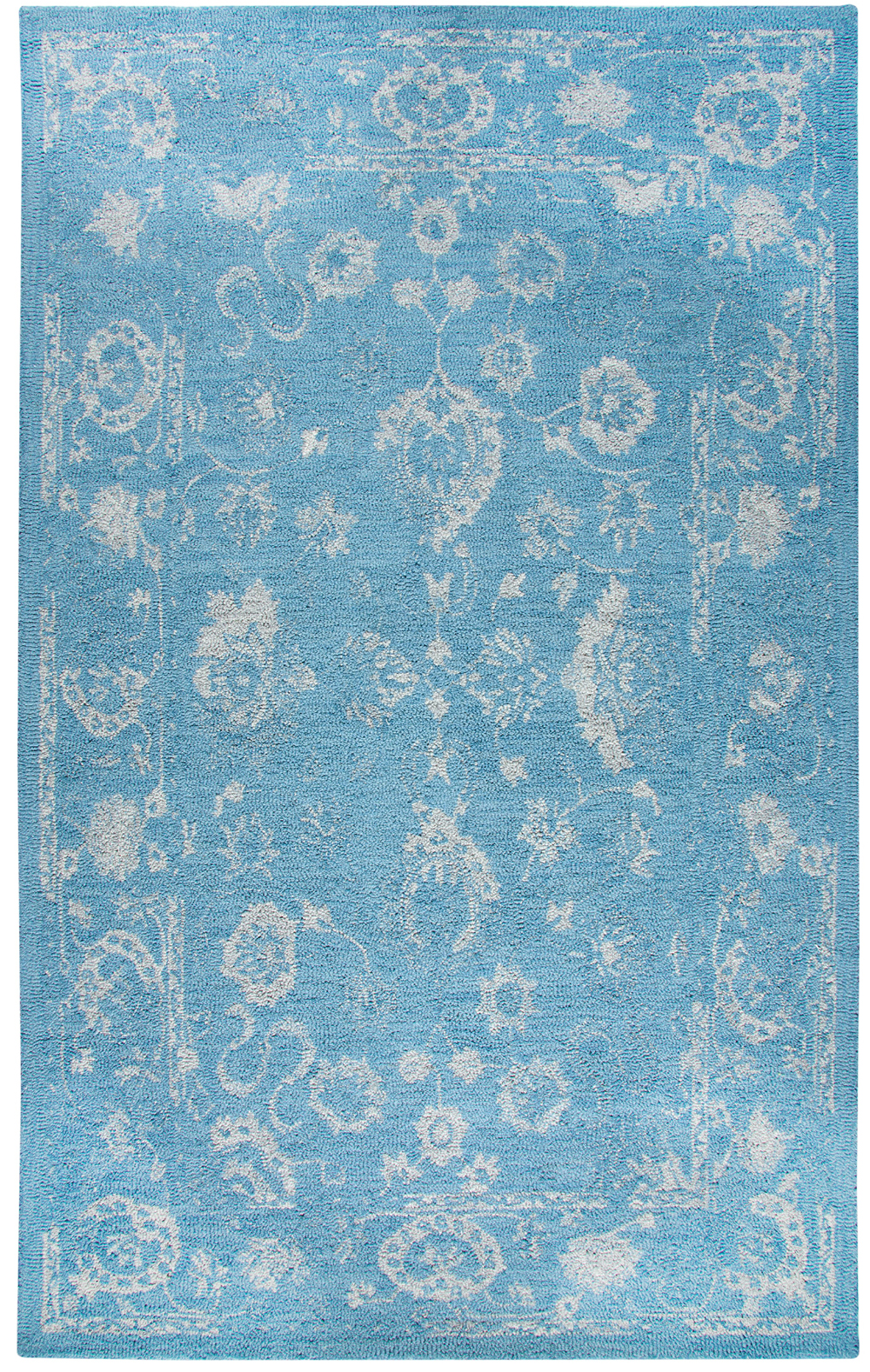 Dynamic AVALON 88800 TURQUOISE/SILVER Rug