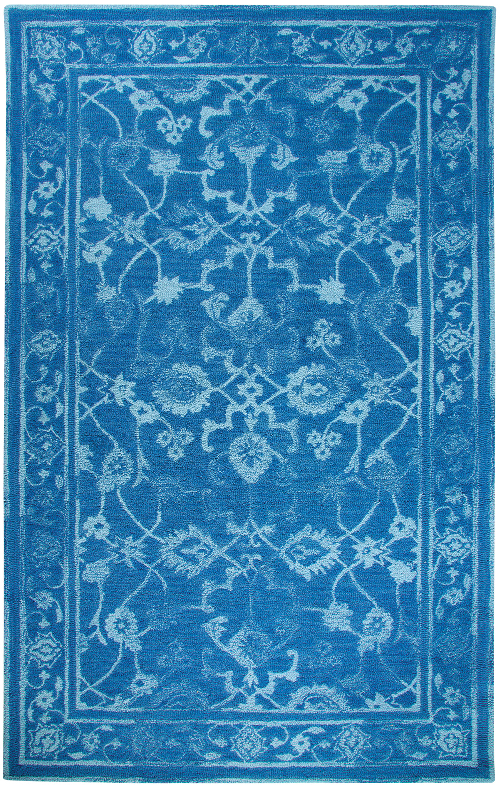 Dynamic AVALON 88802 DK BLUE/LT BLUE Rug