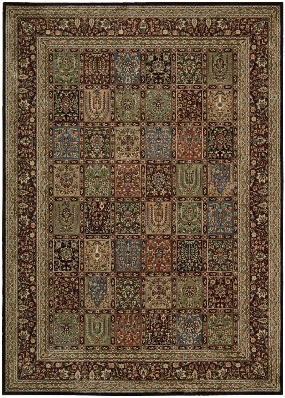 Nourison PERSIAN ARTS BD01 MULTICOLOR Rug