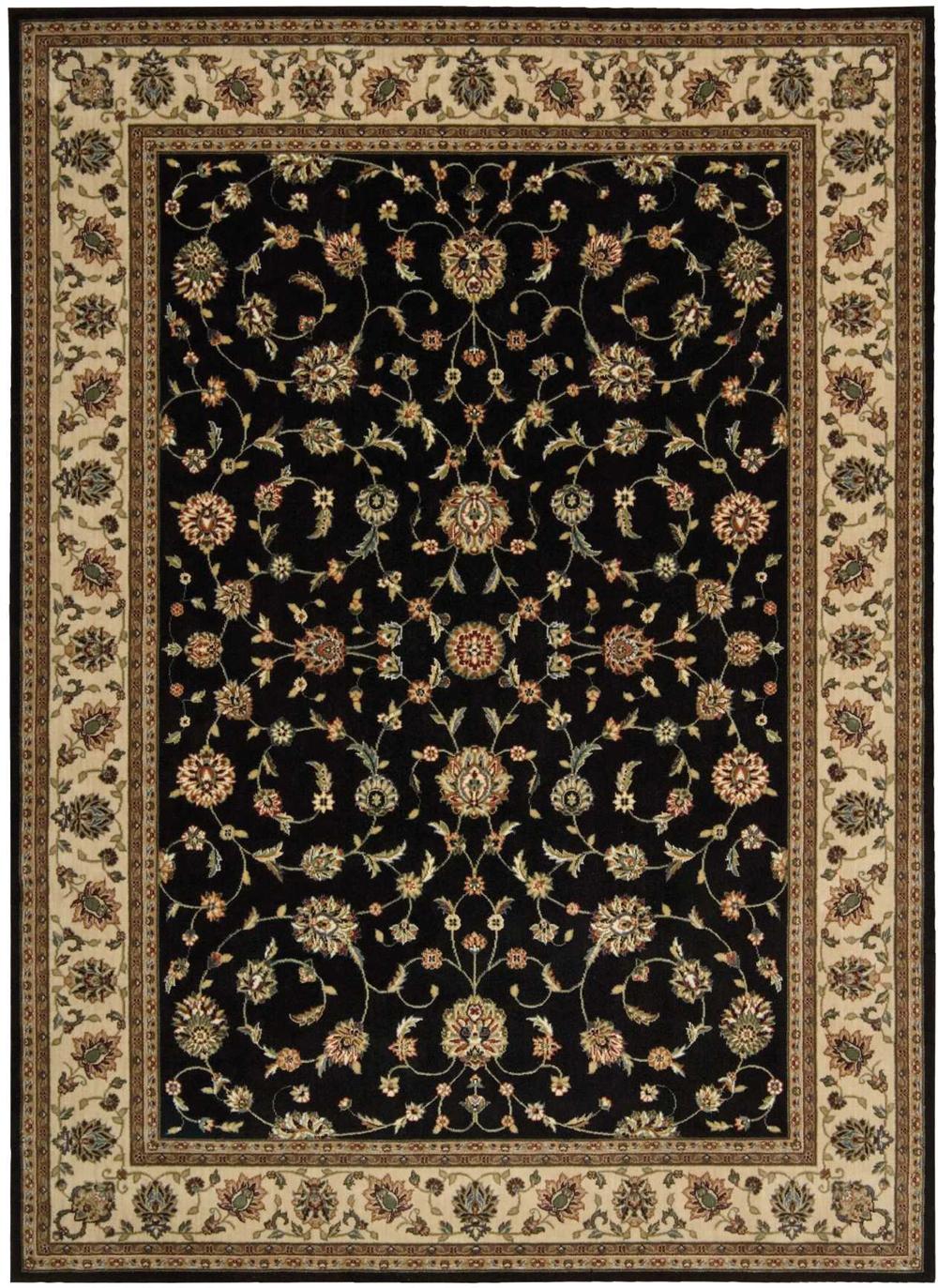 Nourison PERSIAN ARTS BD04 BLACK Rug
