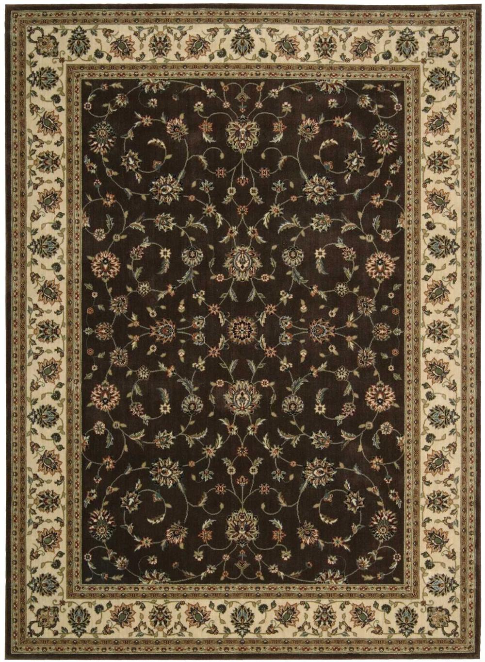 Nourison PERSIAN ARTS BD04 CHOCOLATE Rug