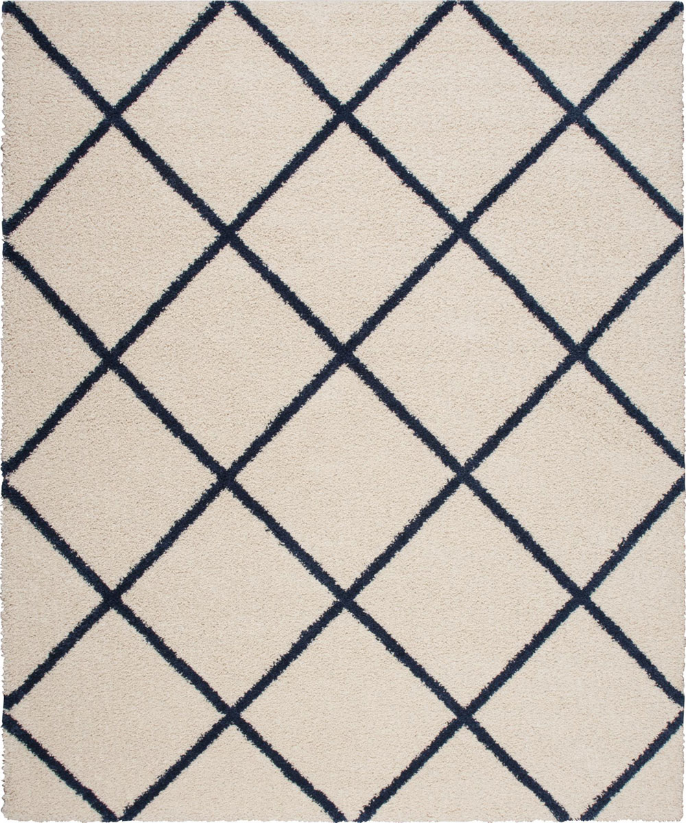 Nourison BRISBANE BRI03 IVORY/BLUE Rug