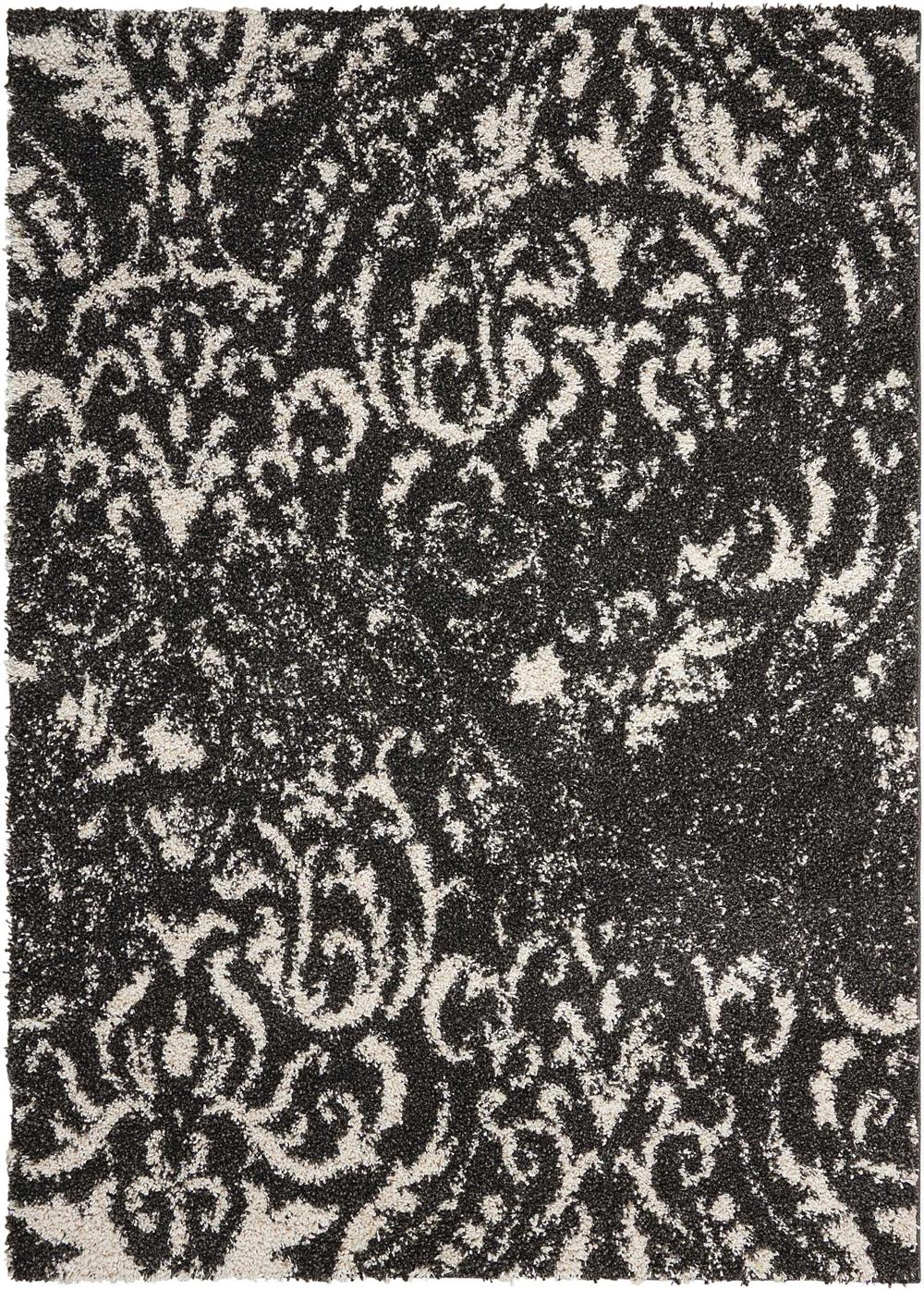 Nourison BRISBANE BRI09 BLACK/WHITE Rug