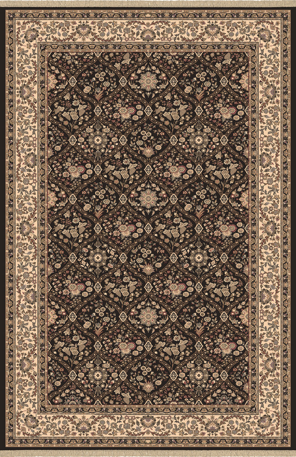 Dynamic BRILLIANT 7211 BLACK Rug