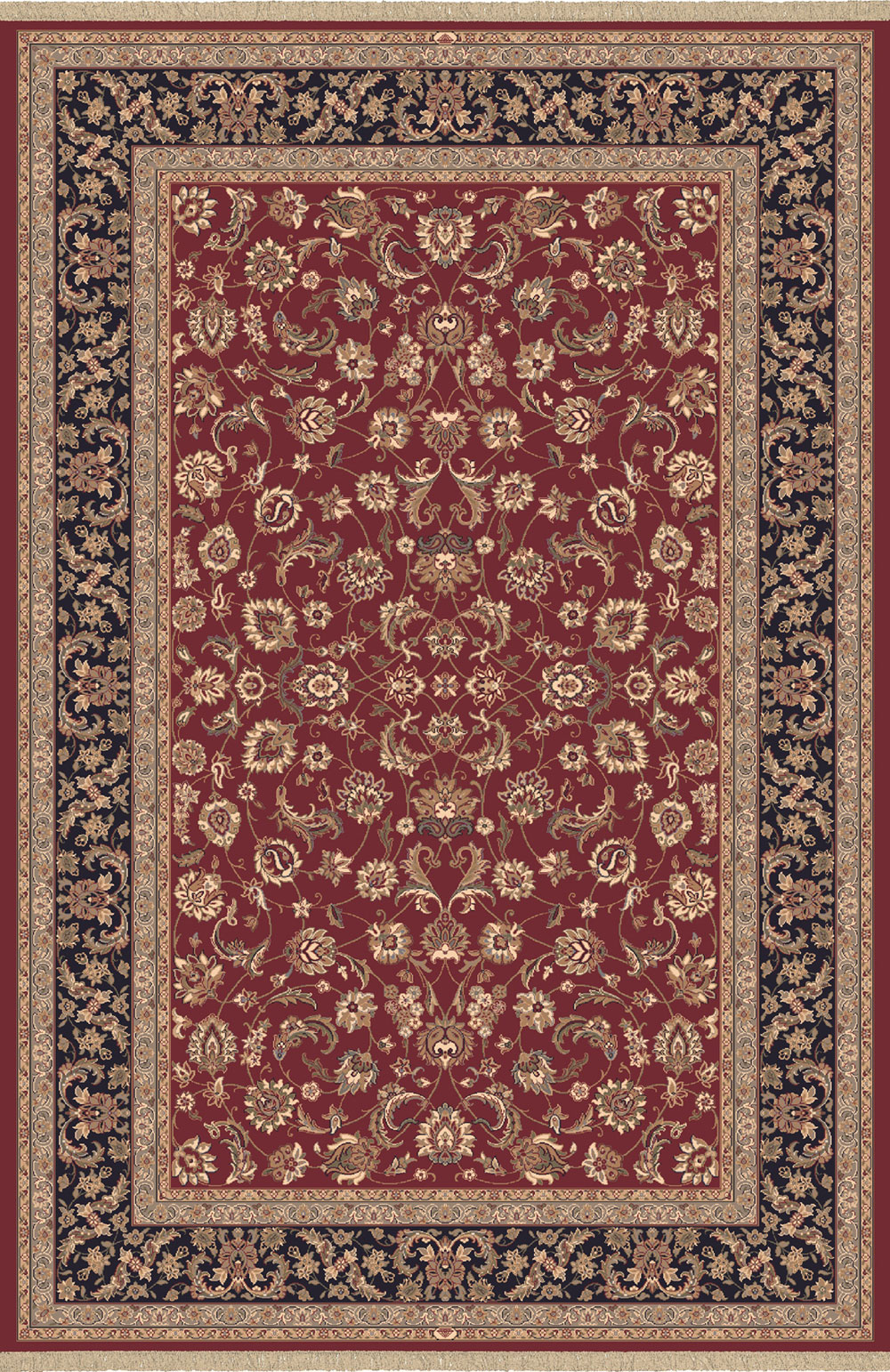 Dynamic BRILLIANT 72284 RED Rug