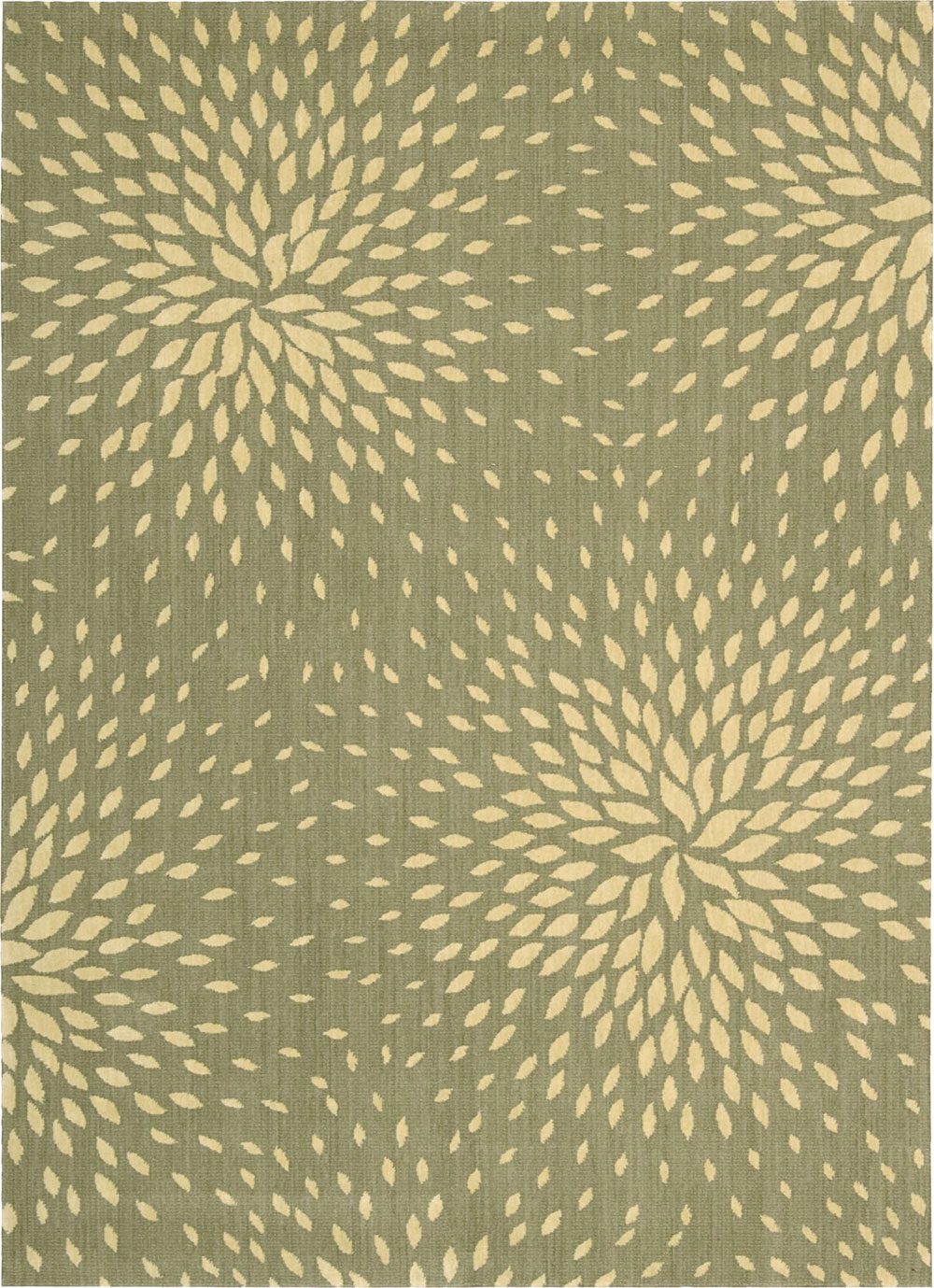 Nourison CAPRI CAP2 LIGHT GREEN Rug