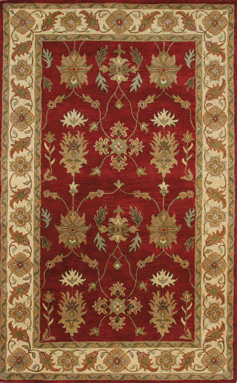 Dynamic CHARISMA 1403 RED/IVORY Rug