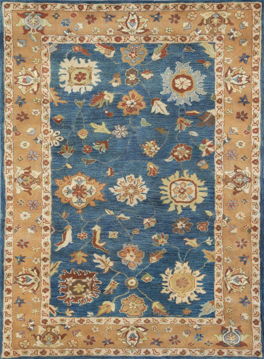 Dynamic CHARISMA 1409 MEDIUM BLUE Rug
