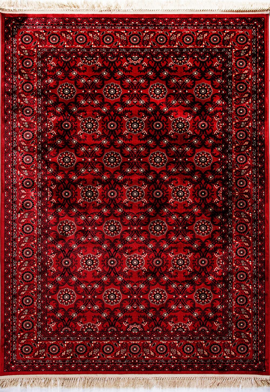 Dynamic CROWN 16231 RED Rug