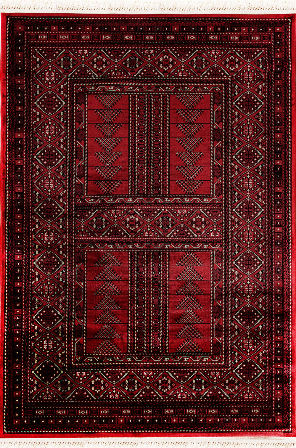 Dynamic CROWN 16232 RED Rug