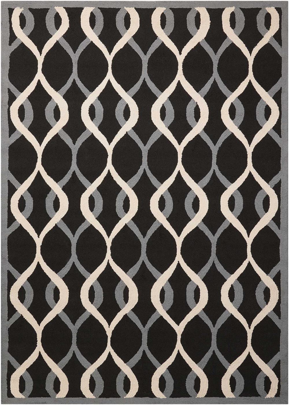Nourison DECOR DER04 BLACK Rug